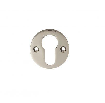 Cilinderrozet BRZ 55E glans nikkel