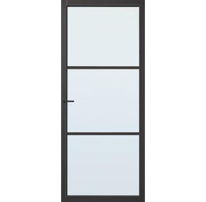 Dover zwart blank glas