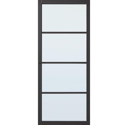Hartford zwart blank glas