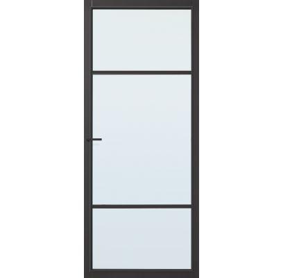 Nashville zwart blank glas