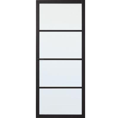 Bradford met blank glas