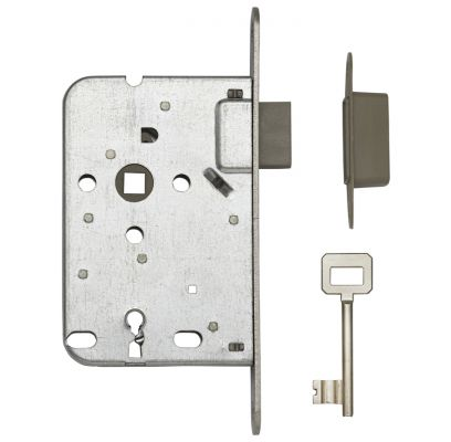 Dag- en nachtklavierslot(sleutel) 1200 RVS