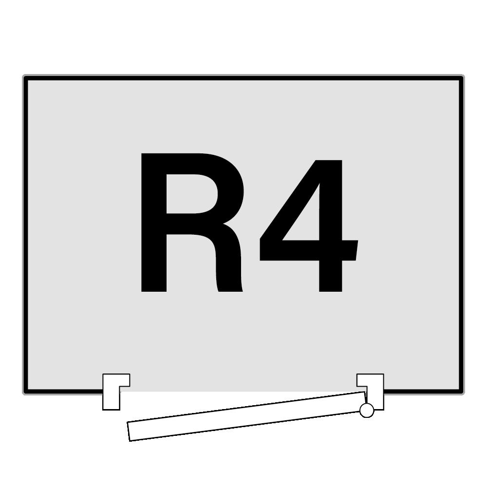 R4 draairichting